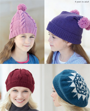 DK hats Sirdar 7349 Digital Download