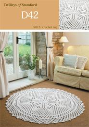 Crochet rug Twilleys 9015, digital download