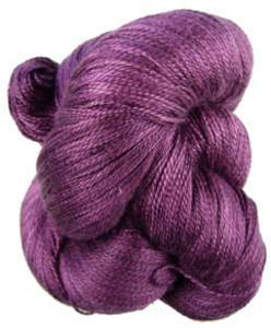 Claudia Silk Lace yarn, Last Nights Wine