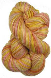 Claudia Addiction Sunrise 4 ply sock yarn