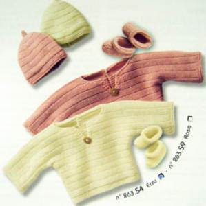 Bergere de France Baby Outfit knit kit 2