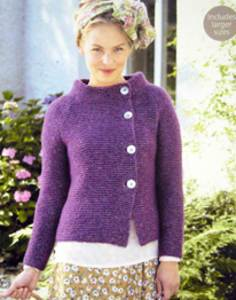 Women s Cardigan Knitting Pattern : Womens knitting patterns modern knitting