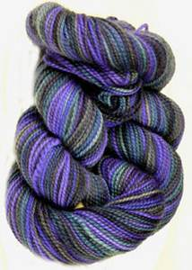 Claudia Addiction sock yarn Midnight