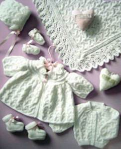 4 ply tinies layette Peter Pan 1069, digital version