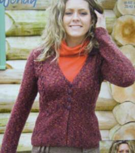 DK cardigan Wendy 5488 digital version