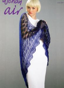 Mohair shawl Wendy 5727, digital version