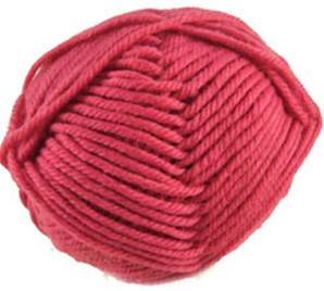 King Cole Merino Chunky knitting yarn, 915 Raspberry