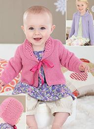 Cardigan and bonnet Sirdar 4472