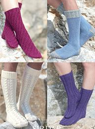Aran socks Sirdar 7181 Digital Download