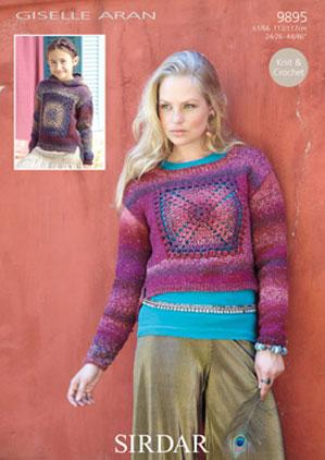 Sweater Sirdar 9895