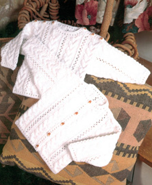4 ply cardigan and sweater Peter Pan 879 Digital Download