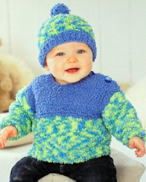 Sweater and Hat Sirdar 1435