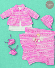 4 ply outfit and blanket Sirdar 4616 Digital Download