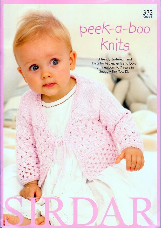 Sirdar 372 Knitting Book Peek A Boo Knits 13 Dk Designs