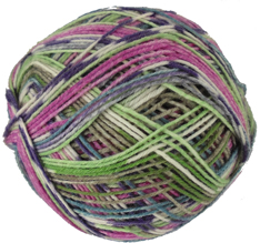 Austermann 6 ply sock yarn, 605 Berry