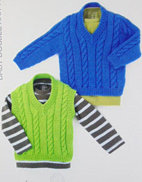 Sweater Hayfield 4413