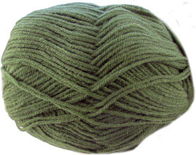 Hayfield DK with wool, 102 Hollygreen