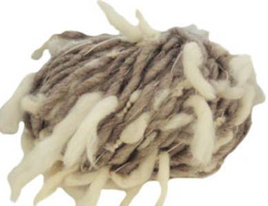 Katia Polo Sur scarf yarn, 401 oatmeal cream