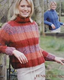 Ribbed raglan sweater PBN02754