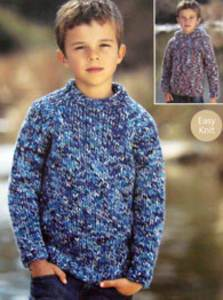 Chunky Knit Jumper Pattern Free : CHUNKY CARDIGANS KNITTING PATTERNS Free Knitting and Crochet Patterns