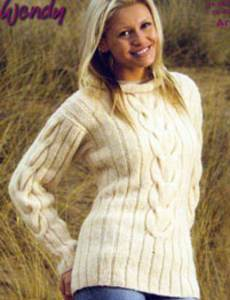 Aran sweater Wendy 5634 digital download