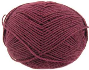 Regia 4 ply sock yarn, Burgundy 315