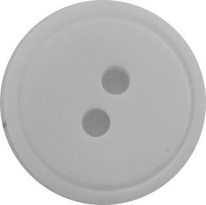 P565 White Plastic button 18cm