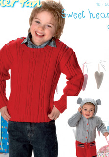 DK sweater and hooded jacket Peter Pan 1121 Download
