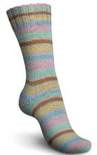 Regia sock yarn 3869 Icing Stripes by Kaffe Fassett