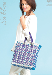 DK womans fair-isle bag Sublime 6092, Digital Download