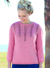 4 ply sweater Sirdar 7361 Digital Download