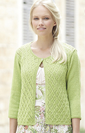 4 ply womans cardigan Sirdar 7726 Digital Download