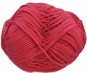 Patons 100% Cotton DK, 2725 Bright Pink