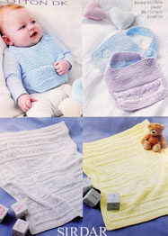 Blankets and bibs Sirdar 4418