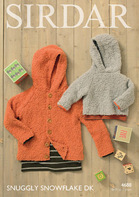 DK sweater and cardigan Sirdar 4688 Digital Version