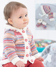 DK baby and childs outfit Sirdar 4795 Digital Download