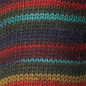 Regia Kaffe Fassett 4 ply sock yarn 3871 Shadow stripes