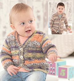 89218173f30a Sirdar 4791 chunky knitting pattern baby childs cardigans