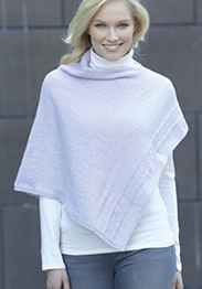 4 ply poncho Sirdar 7344 Digital Download