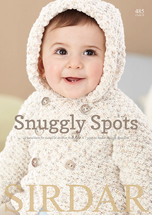 Snuggly Spots knitting book, Sirdar 485