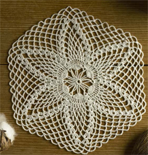 Crochet Filigree Mat Twilleys 9020, digital download
