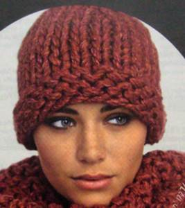 Bergere de France Hat knit kit