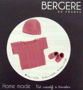 Bergere de France Baby Outfit knit kit 3