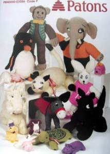 Patons Animal Toys PBN03056