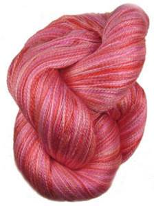 Claudia Silk Lace yarn, Lipstick