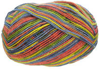 Opal 4 ply sock yarn, Rainforest 8, 6237, King of Hip Hop