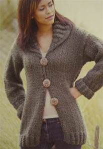 Superchunky cardigan Twilleys 9085