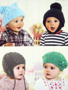 Aran hats Sirdar 1338 Digital Download