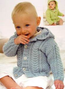Baby and toddler aran knitting patterns to download