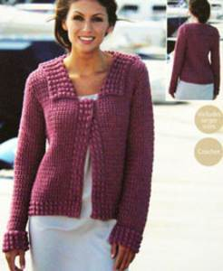 4 ply jacket Sirdar 9506 Digital Download